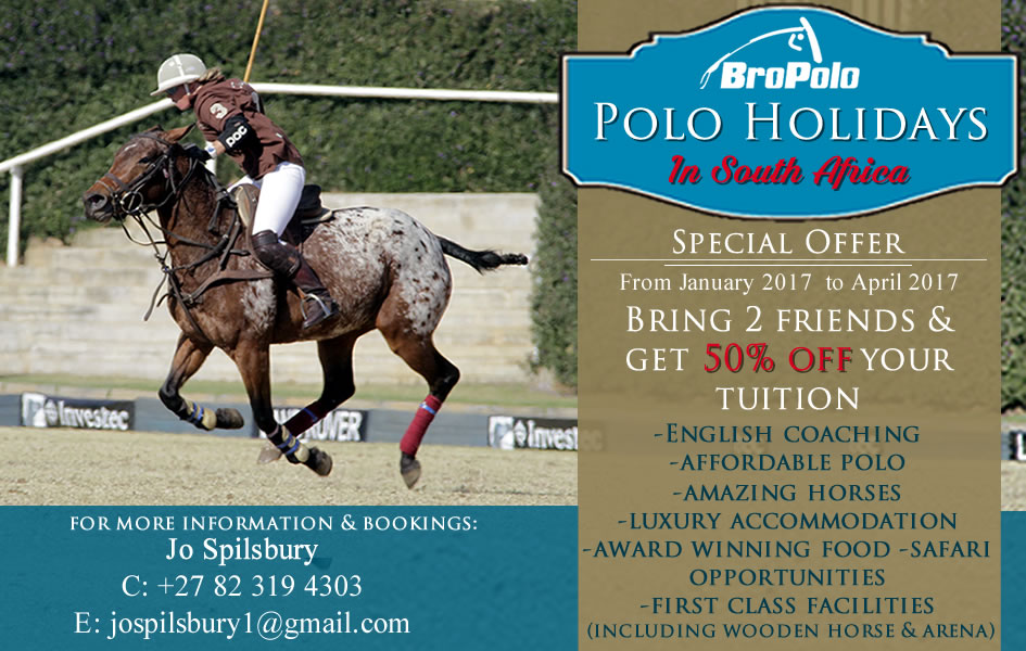 View Our Polo Holiday Special